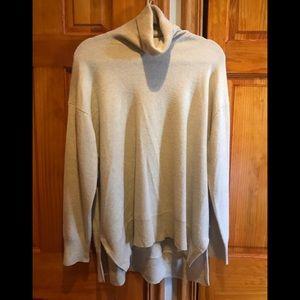 ZARA 100% Cashmere Turtle Neck Sweater sz M